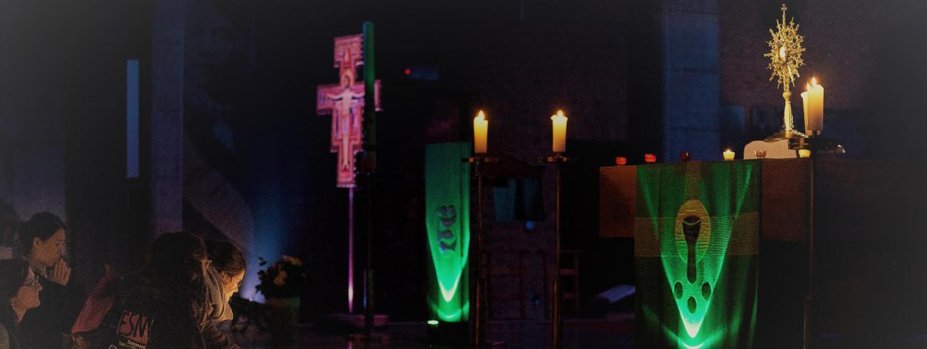 Aanbidding Nightfever Leuven  © Damiaan Dufaux