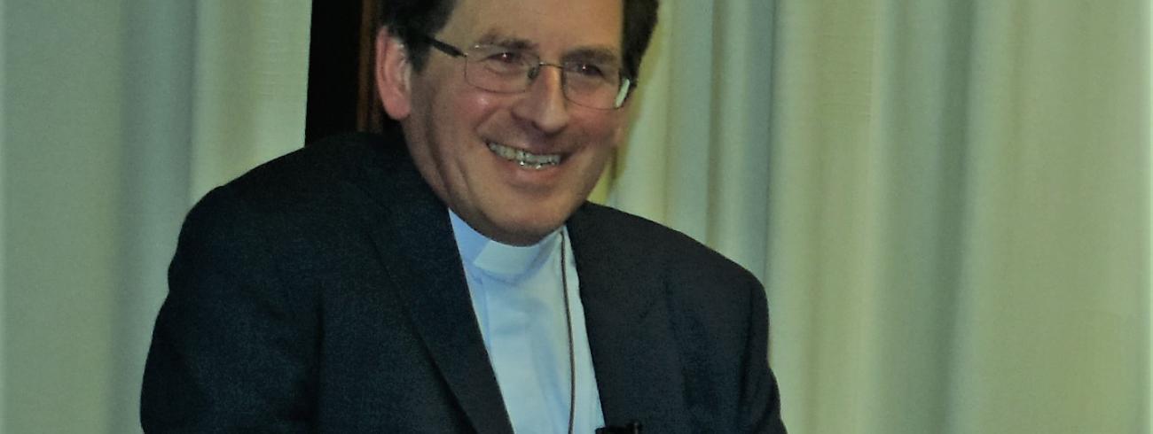 Bisschop Lode getuigt  © Johannes 23 seminarie