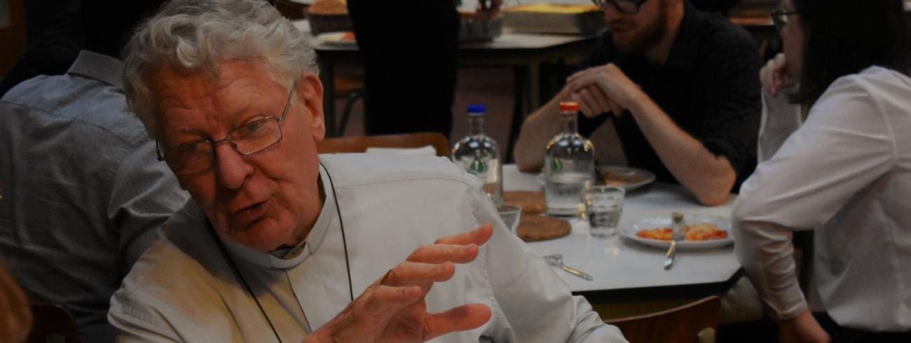 Mgr Van Looy  © Johannes 23 seminarie