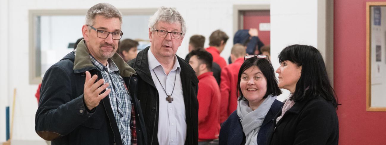 Don Bosco SDW - met Mark Tips sdb en Lieve Van Daele © Don Bosco SDW