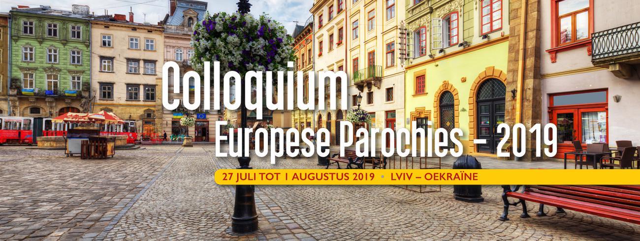 Colloquium Europese Parochies 2019