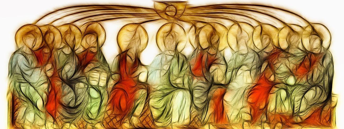 Op weg naar het ontvangen van de heilige Geest © Flickr