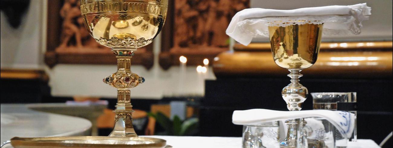 Eucharistie vieren. © RR