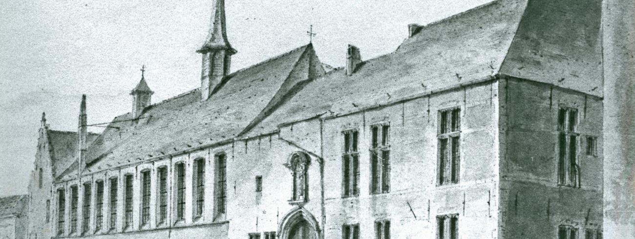 Abdij Terhagen waar het Erfgoedhuis is © Erfgoedhuis ZLJM