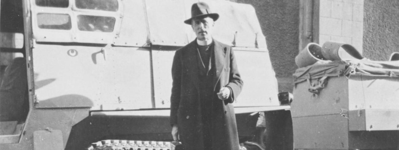 Pierre Teilhard de Chardin 1881-1955 © Fondation Teilhard de Chardin