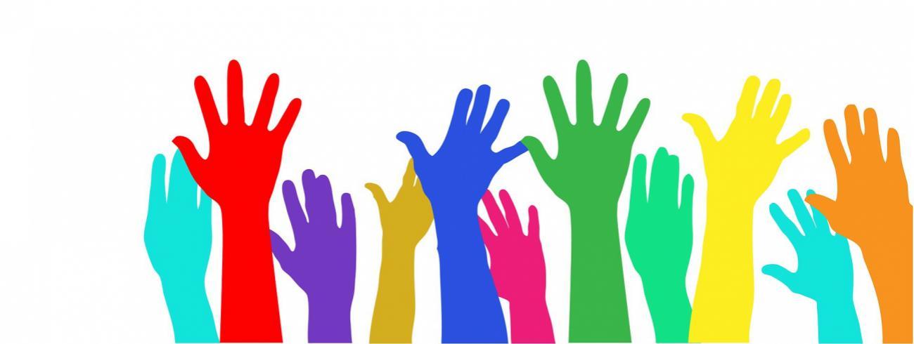 De vele handen van vrijwilligers maken licht werk. © Kaz via Pixabay