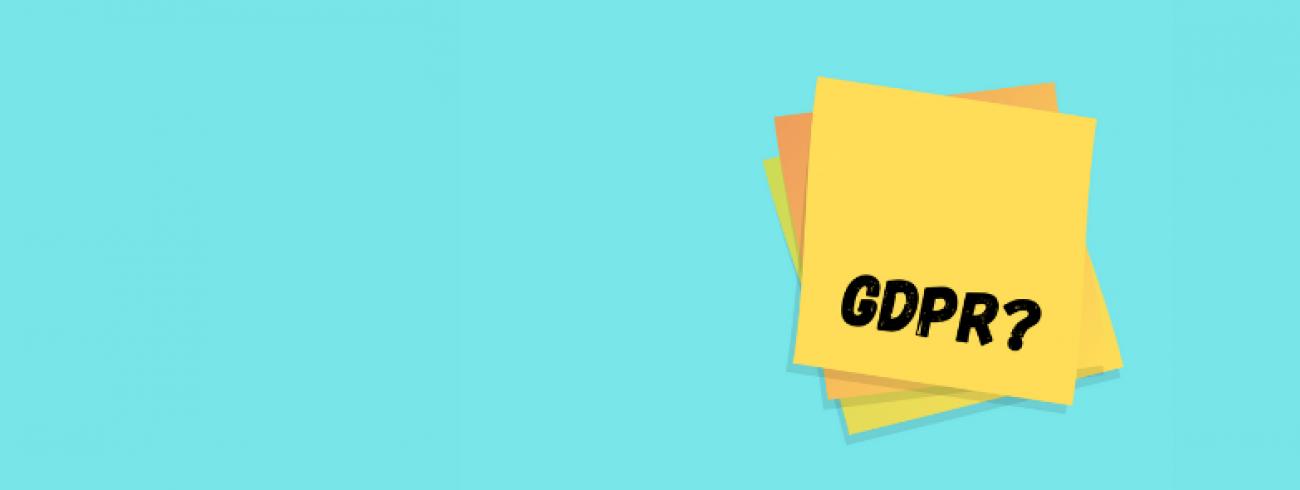 Vink je GDPR check-list af voor je publiceert!