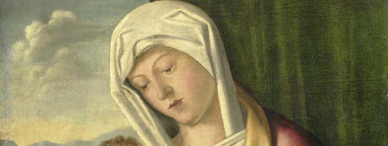 Maria met kind door Giovanni Bellini