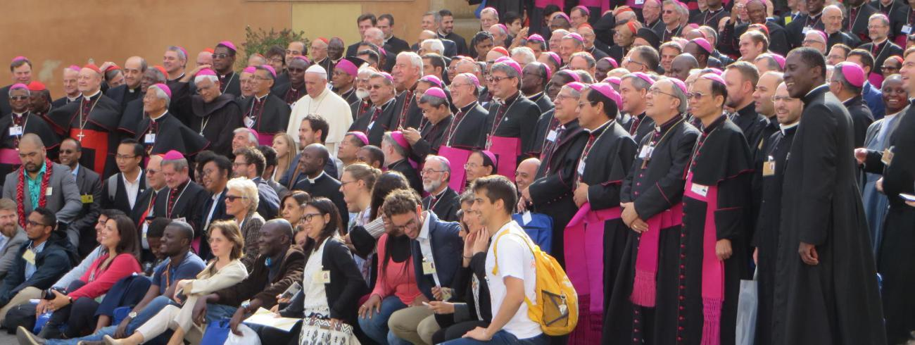 Groepsfoto van de synode. © evl