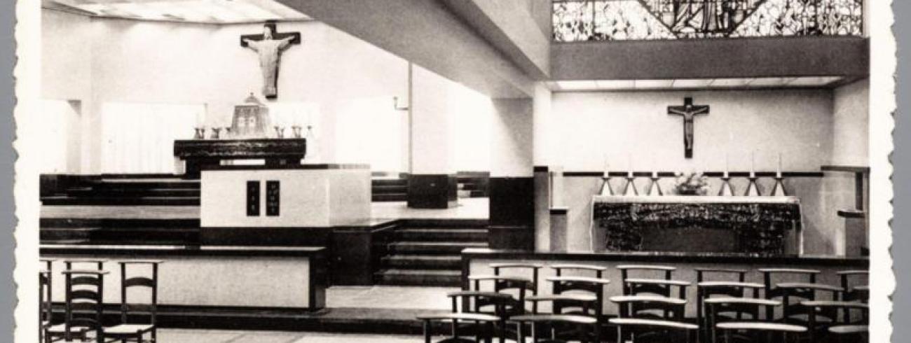 Interieur Heilig Hartkerk © Erfgoedbank Kempens Karakter