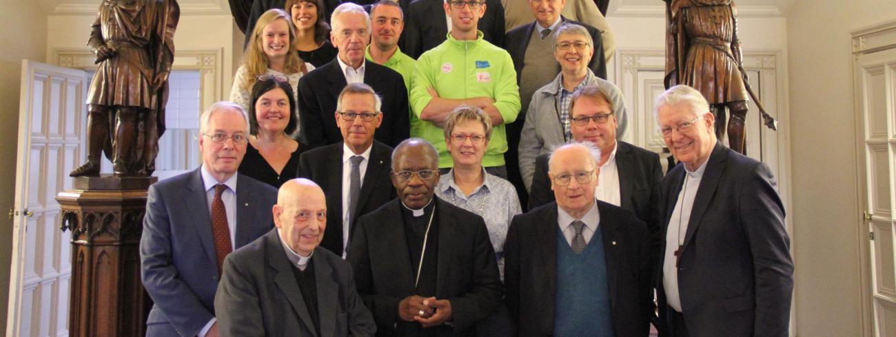 Bezoek van de pauselijke nuntius aan bisdom Gent. © Bisdom Gent, foto: Isolde Ruelens