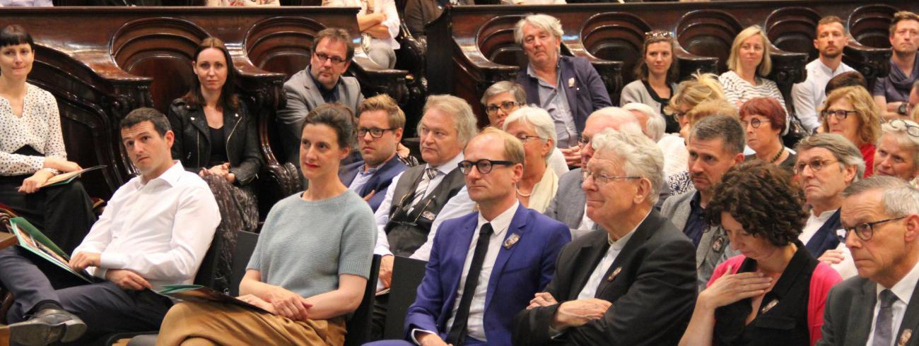 Veel belangstelling voor lancering Van Eyck-jaar 2020 © Bisdom Gent, foto: Isolde Ruelens