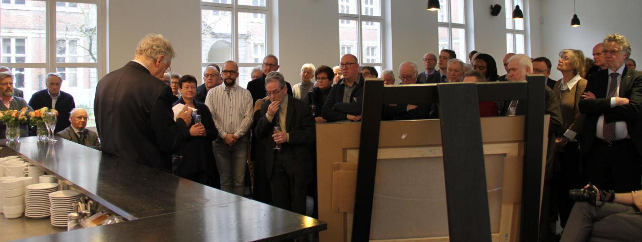 Nieuwjaarsreceptie bisdom Gent medewerkers 2019 © Bisdom Gent, foto: Ellen Eeckhout