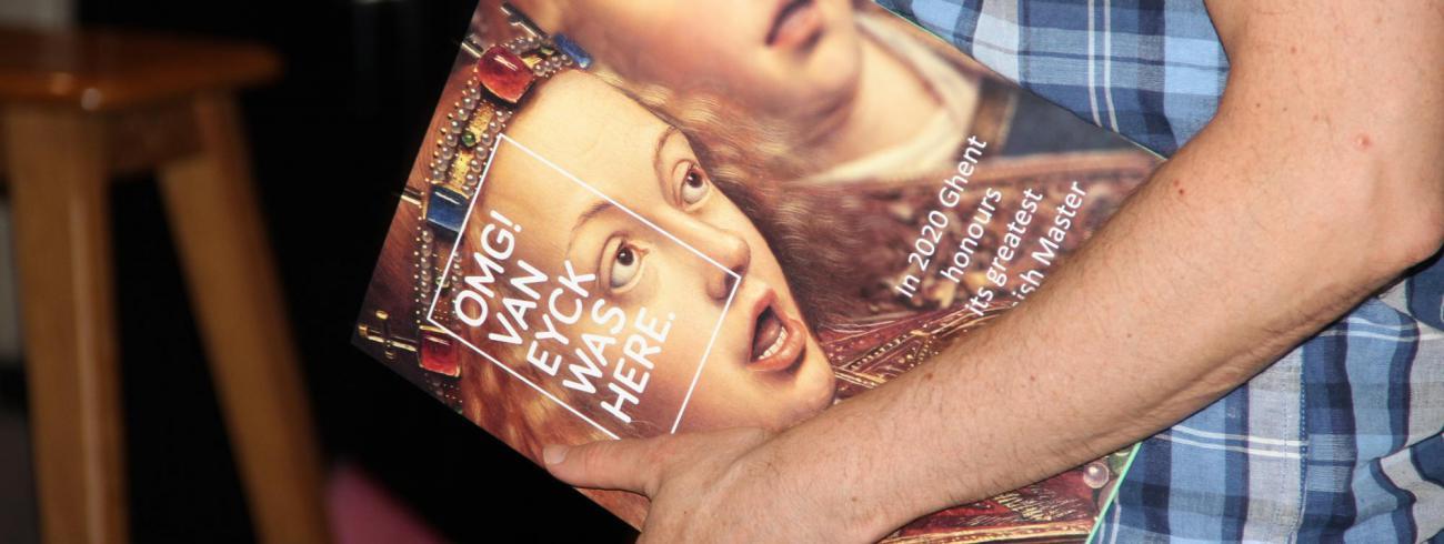 Van Eyck-jaar 25 juni 20109 © Bisdom Gent, foto: Ellen Eeckhout