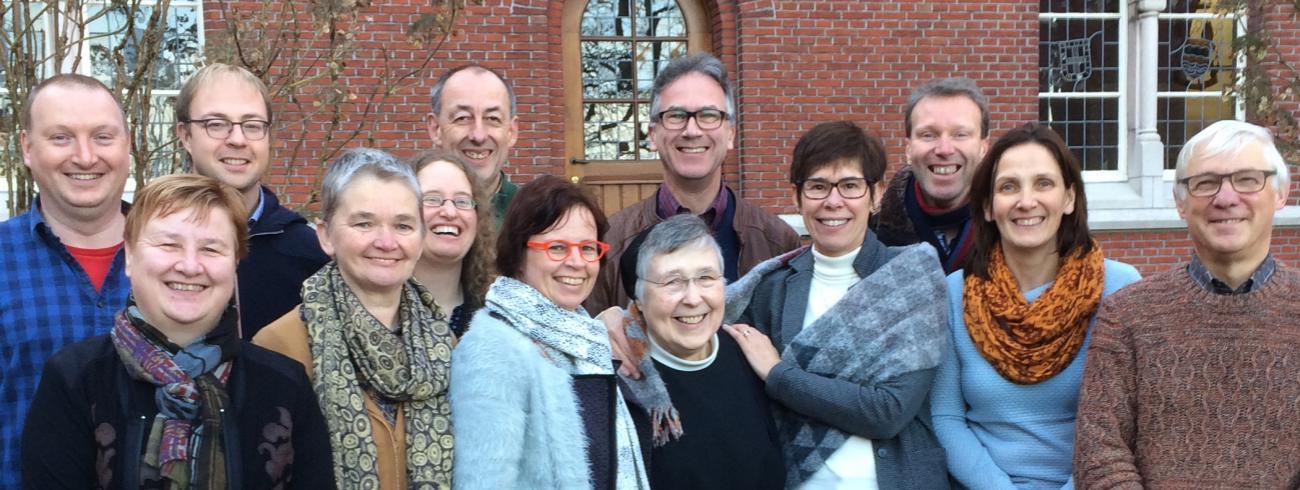 Een aantal parochieassistenten uit het bisdom Brugge op bezoek in Brecht © Jan Demuynck
