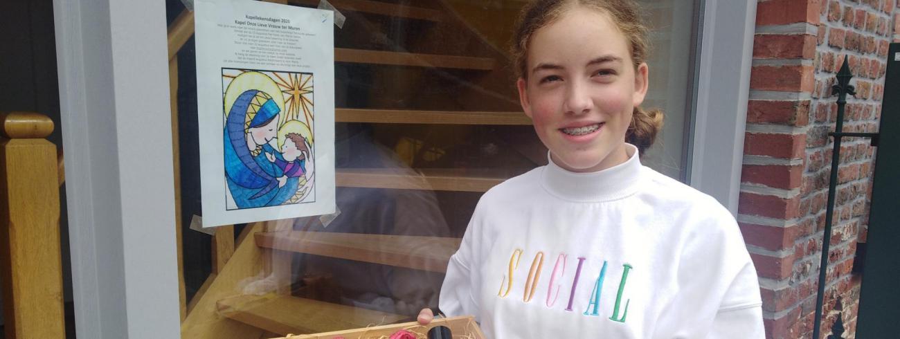 Hanne Coppens is de winnaar van de kleurwedstrijd