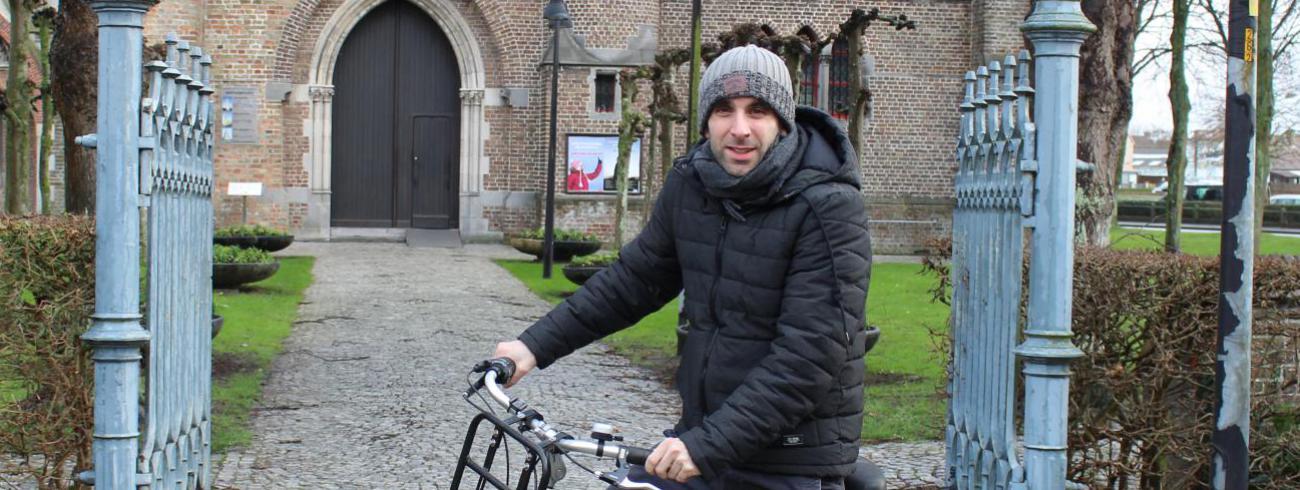 Nieuwe parochieassistent in Blankenberge © Jozef Leterme