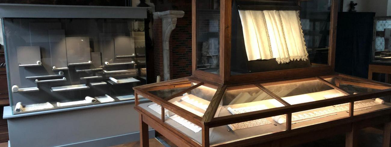 Het kantmuseum van de Sint-Carolus Borromeuskerk © Kerkfabriek van Sint-Carolus Borromeus te Antwerpen
