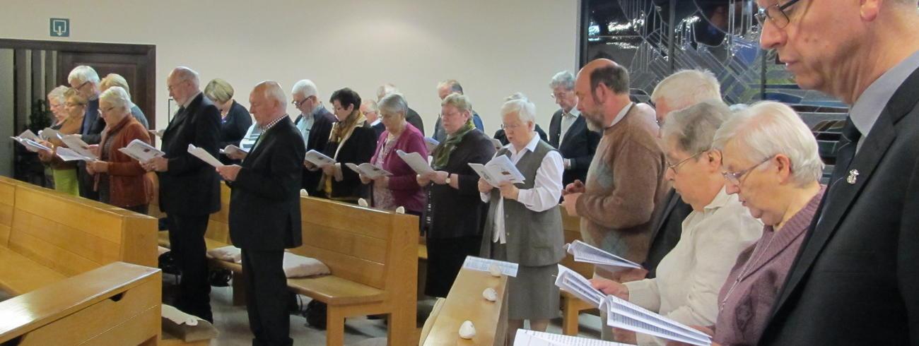 Engagementsviering - jaarlijks rond 8 december - hier: Hasselt