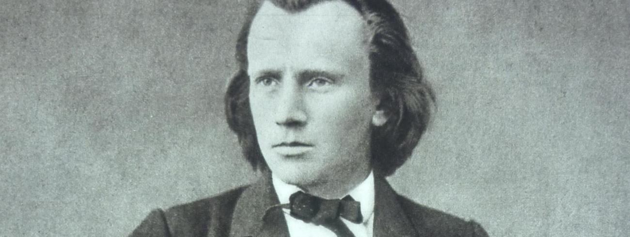 Johannes Brahms ten tijde van het 'deutsches Requiem'. © Wikipedia