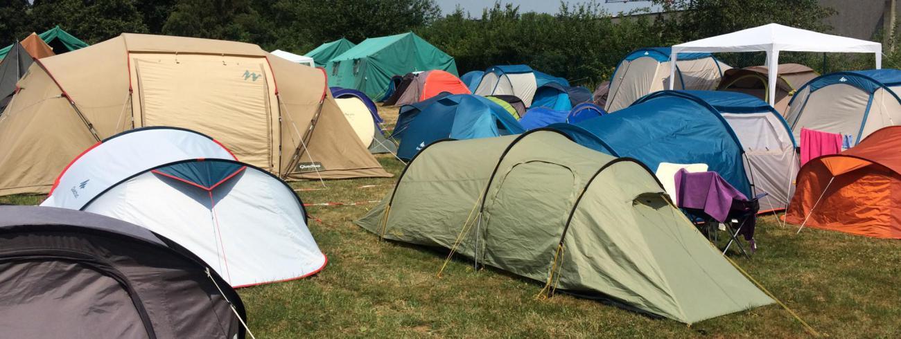 De tentenweide van JEP!