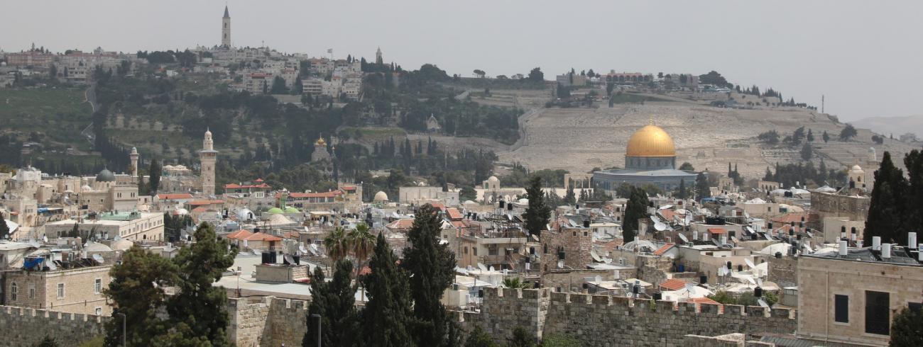 Jeruzalem © Ivars Kupcis/WCC