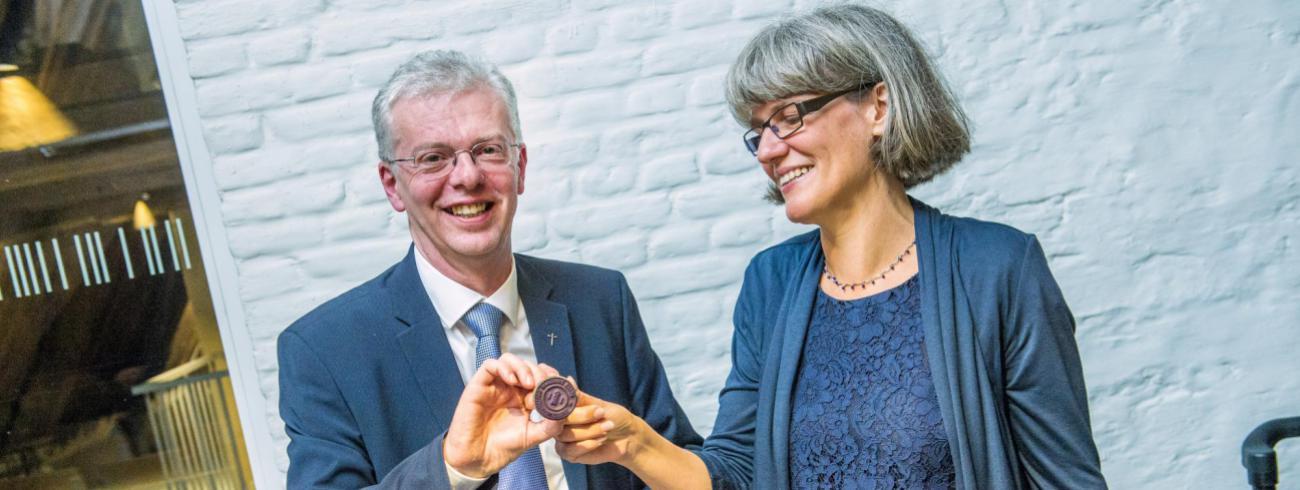 Jürgen François en Kathleen Martens © Bisdom Gent, foto: Frank Bahnmüller