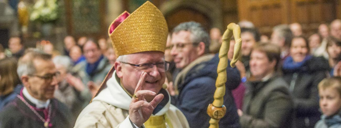 Lode Van Hecke, 31ste bisschop van Gent © Bisdom Gent, foto: Frank Bahnmüller