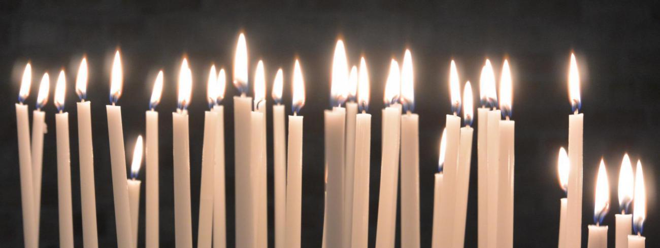 Kaarsen branden