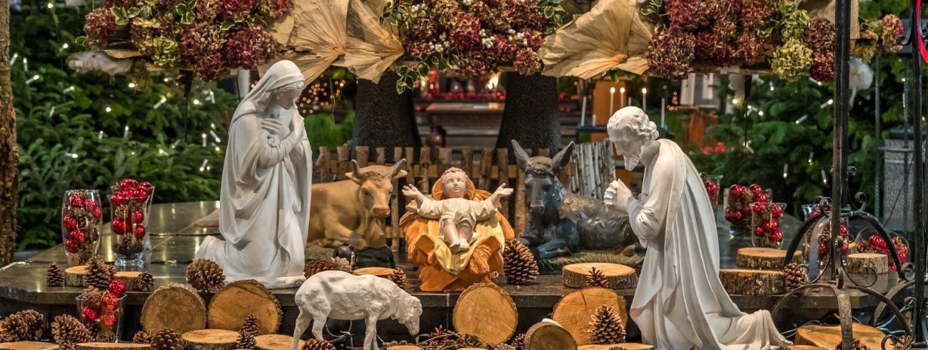 Kerststal © Francis Gerits