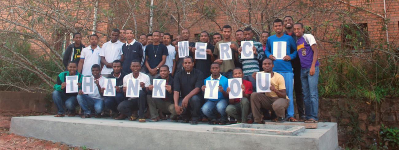 Madagaskar dankt de vele weldoeners van Kerk in Nood © Kerk in Nood