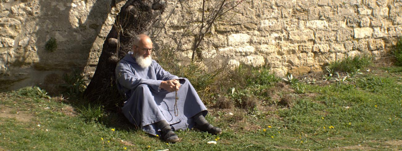 In 2019 vertrok Guerric Aerden uit de abdij van Westmalle om als kluizenaar te gaan leven in de Provence.  © Guerric Aerden