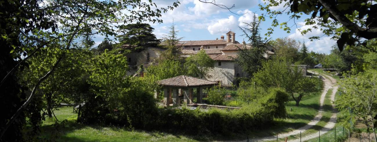 La Romita, een kluizenarij in Umbrië. © Babs Mertens