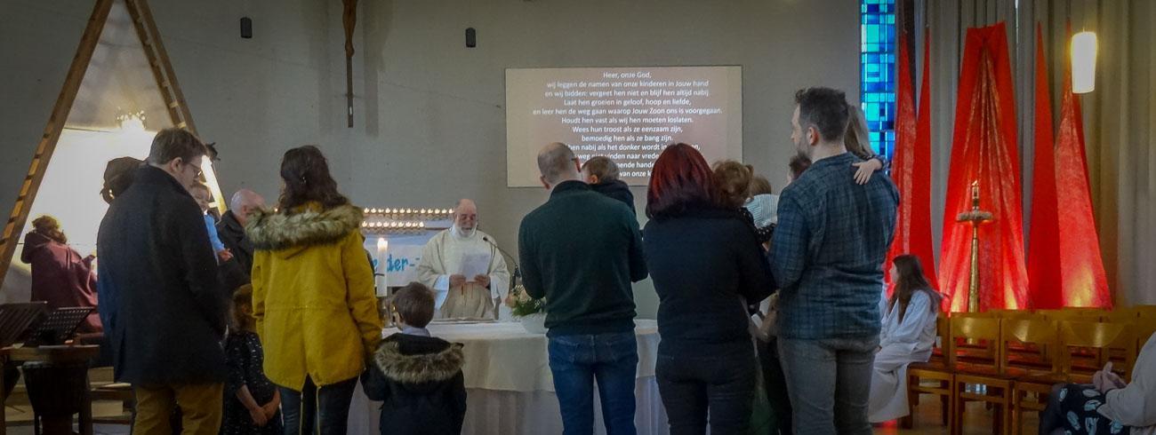 Simeon ziet in Jezus het licht van de wereld