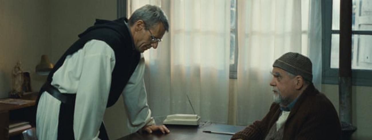 Met Lambert Wilsonin de film 'Des hommes et des dieux'  © Des hommes et des dieux