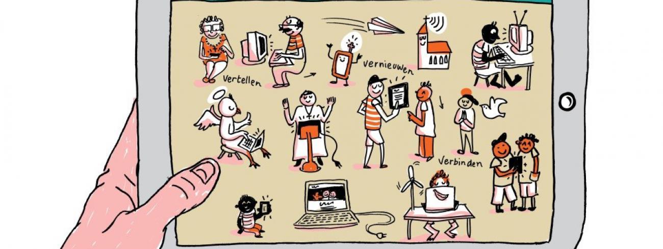 Mediazondag stelt dit jaar scherp op het communiceren van hoop en vertrouwen. © Pieterjan Volckaert