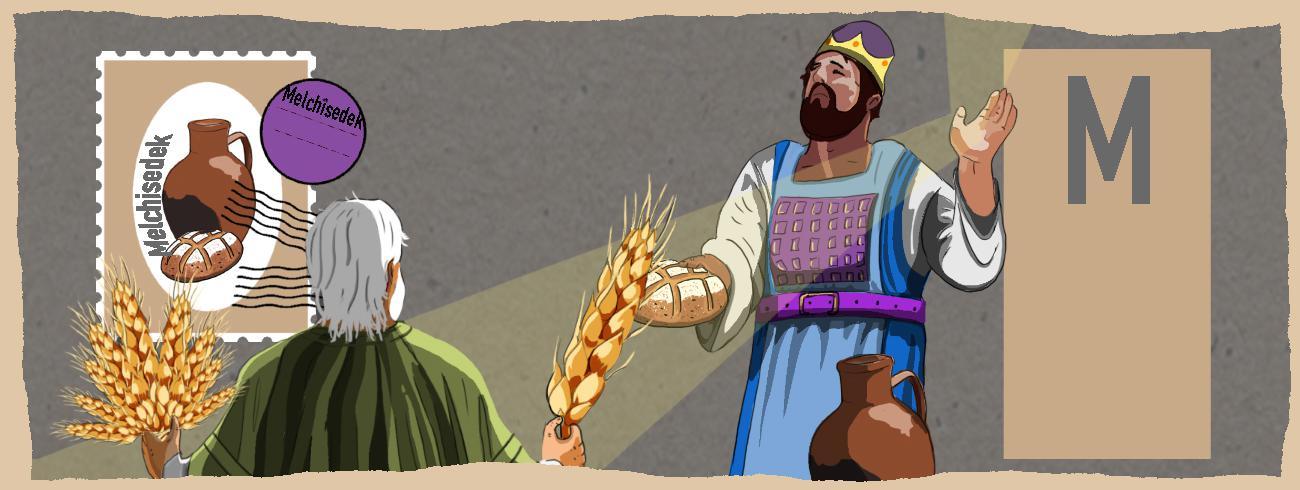 De Bijbel schetst Jezus als de nieuwe Melchisedek, mythische Koning van Gerechtigheid. © Tynke Van Schaik