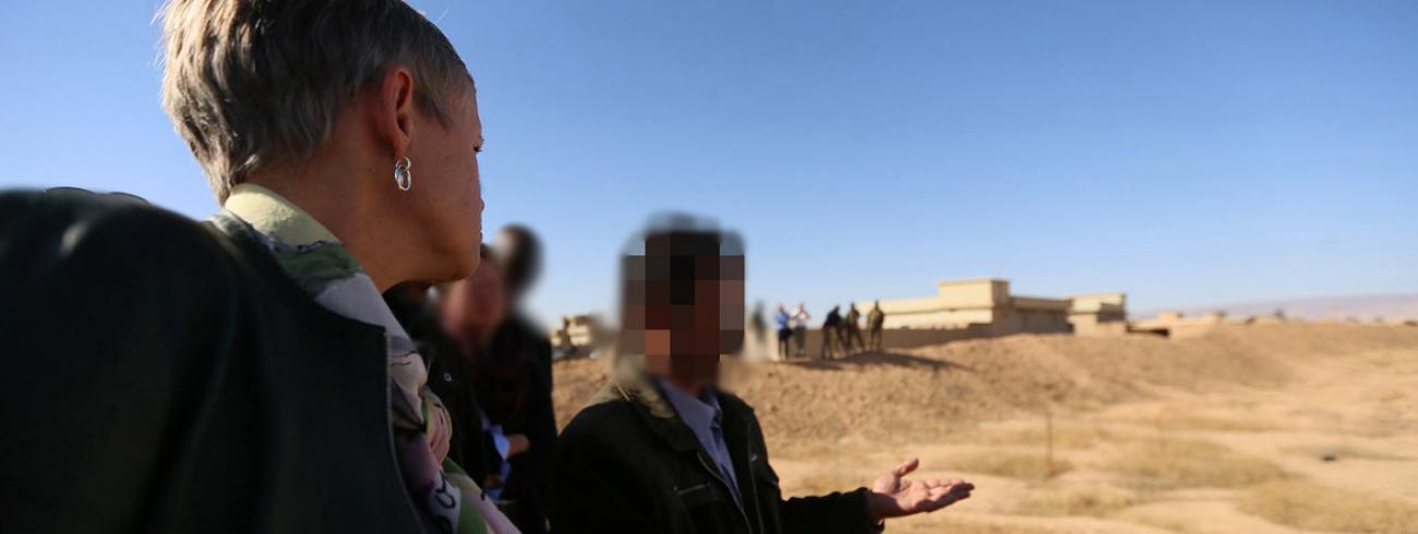 Massagraven in het dorp Kocho, in de vlakte van Nineve © UNAMI/Celia Thompson