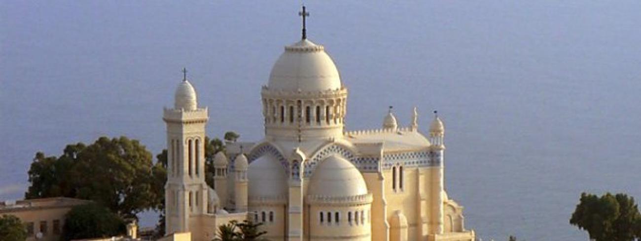 De kathedraal van het Heilig Hart in Oran © BC van Algerije