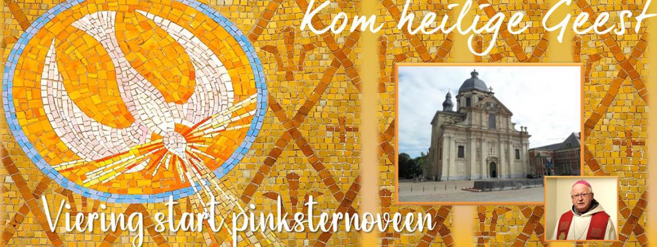 viering bij de start van de pinksternoveen
