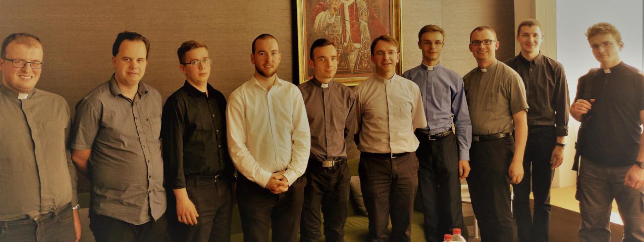 Poolse seminaristen op bezoek