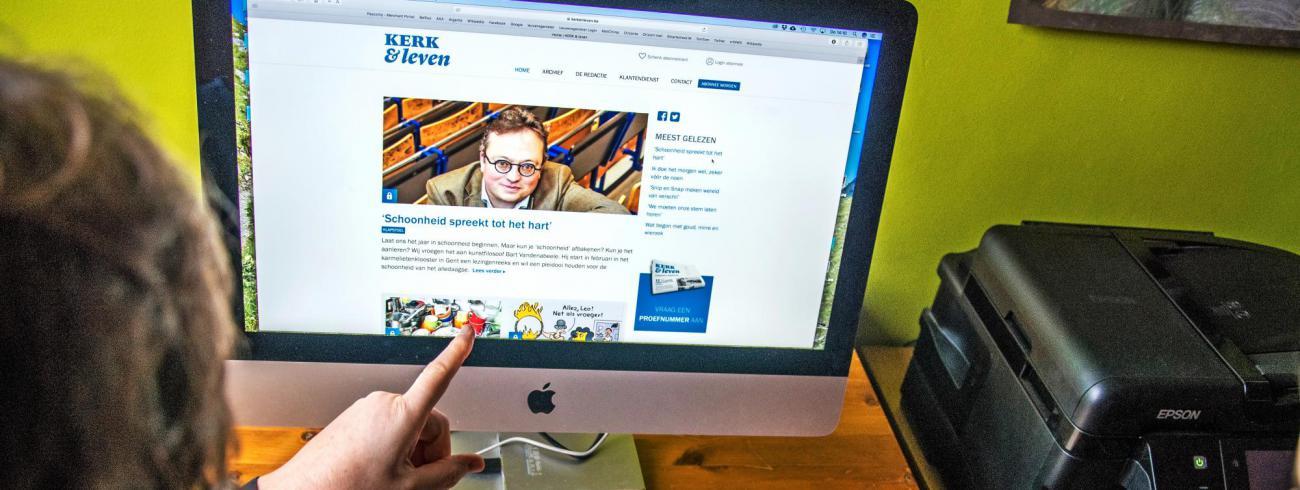Op de nieuwe site www.kerkenleven.be vindt u alle artikels sinds 2006. © Luk Vanmaercke
