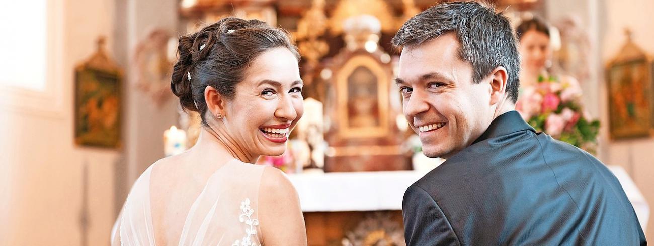 Kiezen koppels voor een sacramenteel huwelijk, dan komen ze thuis in de Kerk. © Image Select
