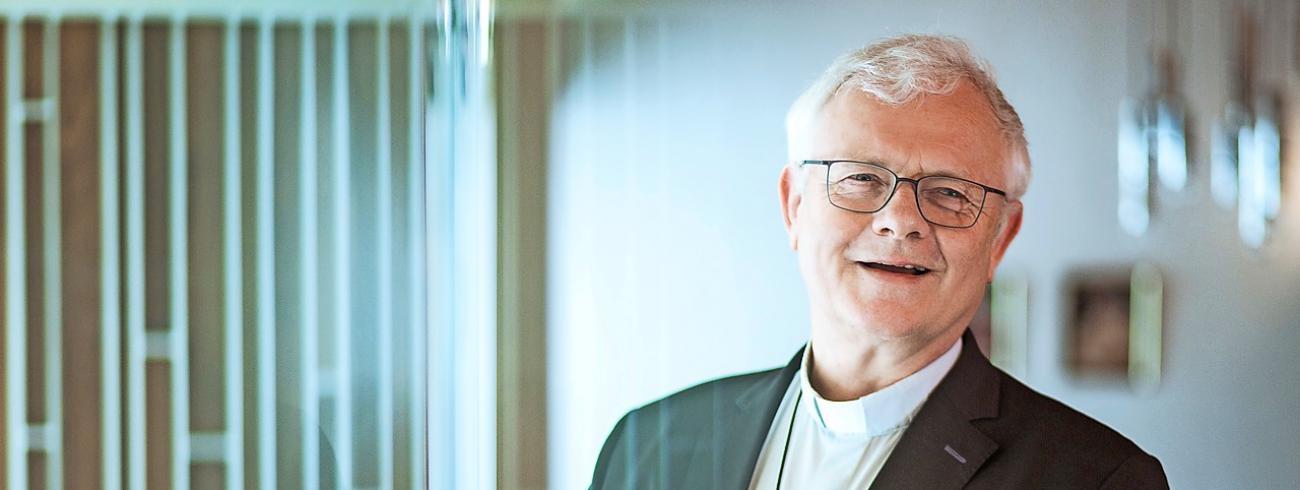 """Mgr. Hoogmartens: """"Hoewel kneusje onder de hoogdagen, brengt Hemelvaart een boodschap van hoop."""" © © Mine Dalemans"""