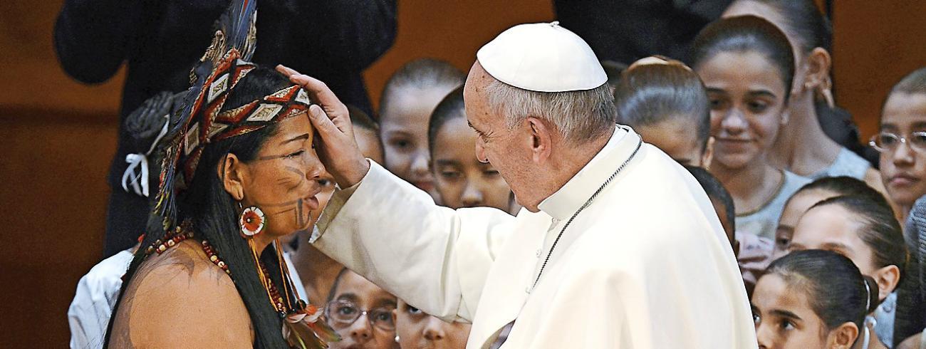 Paus Franciscus uitte al openheid voor gehuwde priesters, enkel in afgelegen gebied © KNA Bild