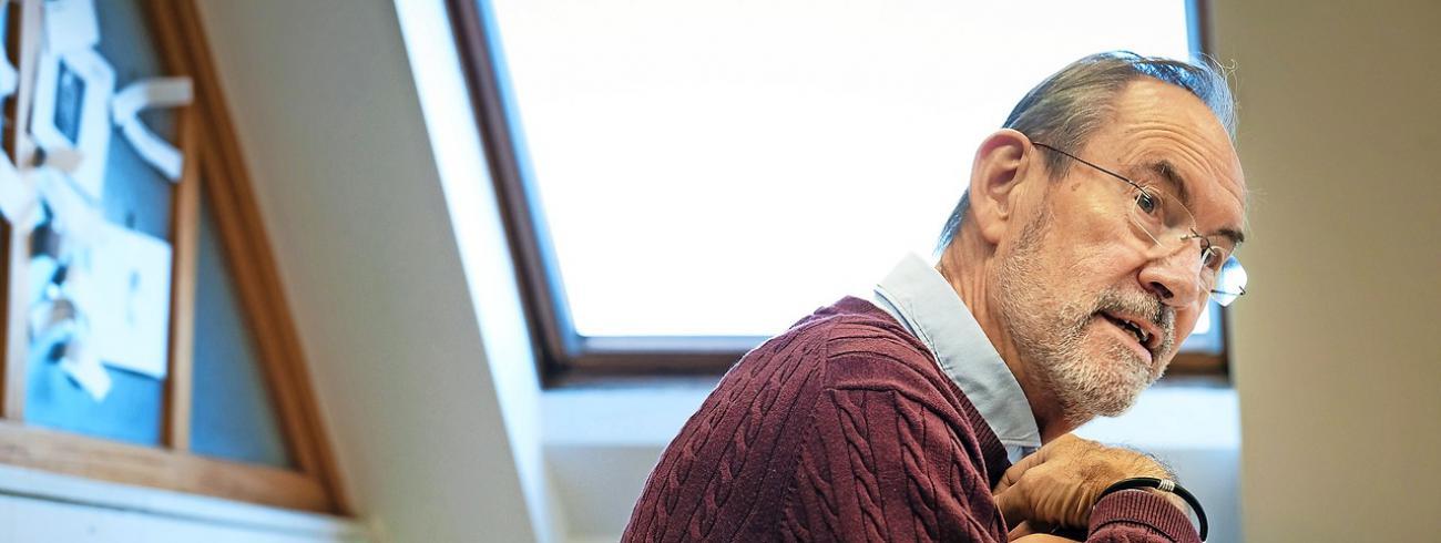 """Peter Annegarn: """"Onze grote troef is ons bijzonder uitgestrekte netwerk.""""  © Bart Dewaele"""