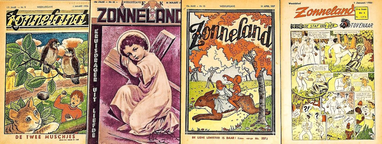 Na 1945 werd Zonneland gemoderniseerd en verdween het religieuze karakter. © Luk Vanmaercke