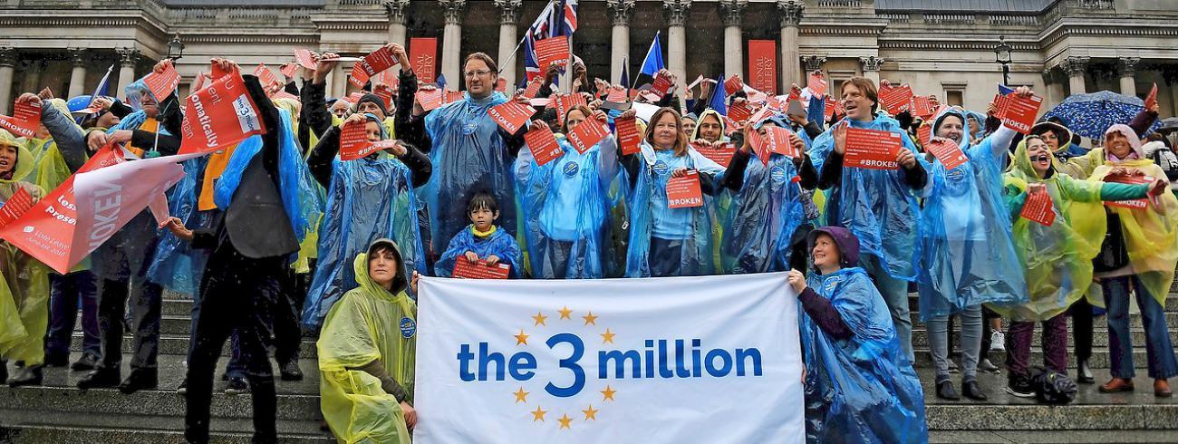 De Britse bisschoppen riepen alle parochies op zorg te dragen voor parochianen die EU-burgers zijn. © Belga Image