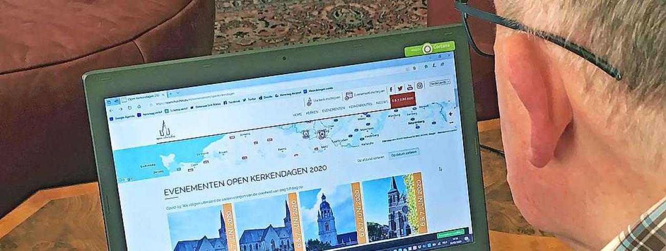 Op de website van Open Kerken kun je ook op ontdekkingstocht gaan. © Christof Bouweraerts