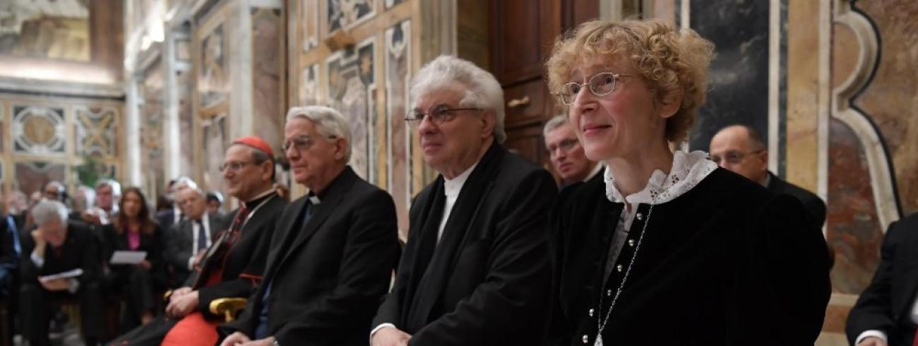 Prijsuitreiking van de Ratzingerprijs 2018 © Vatican Media